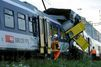 Collision de trains en Suisse