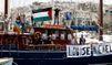Flottille: départ symbolique pour le Louise-Michel