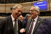 Malgré le Brexit, Nigel Farage plaisante avec Jean-Claude Juncker