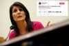"""""""Merci la Corée du Nord"""" : l'ambassadrice américaine à l'ONU se plaint de travailler un jour férié"""