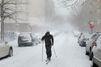 New York s'est réveillée les pieds dans la neige