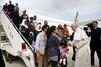 """Trois familles syriennes, """"hôtes du Vatican"""""""