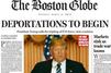 "Trump président: la Une choc du ""Boston Globe"""