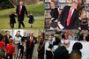 Un weekend studieux et en famille pour Donald Trump