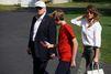 Week-end à Camp David pour la famille Trump