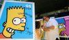 Marge Simpson nue en Une de Playboy