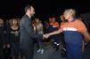 Edouard Philippe à la rencontre des secouristes de Bormes-les-Mimosas