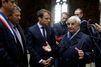 """Macron à Oradour : """"Ne pas se souvenir, c'est prendre le risque de répéter l'Histoire"""""""