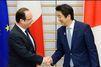 Le voyage japonais de François Hollande en images