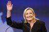 Marine Le Pen, à 30% au premier tour