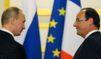 Poutine et Hollande en chiens de faïence