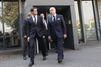 Valls et Cazeneuve affichent leur soutien aux policiers