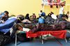 Après l'incendie à Grande-Synthe, plus de 1200 personnes ont été hébergées en urgence