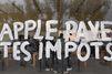 Des militants d'Attac occupent un Apple Store pour réclamer le paiement de l'amende