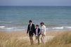 L'émouvante visite de Justin Trudeau, en famille à Juno Beach