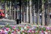 L'homme qui a jeté sa voiture sur un fourgon de policiers sur les Champs-Elysées est mort