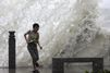 La fureur du typhon Goni