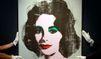Un portrait de Liz Taylor par Warhol aux enchères