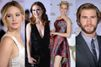 Jennifer Lawrence, glamour et bien entourée à Hollywood