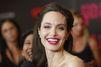 Angelina Jolie radieuse à l'avant première de son nouveau film