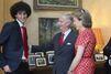 """Mathilde & Philippe, avec les """"diables rouges"""" au palais"""