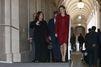 Letizia d'Espagne visite son palais