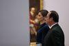 Letizia et Felipe admirent l'oeuvre de Velasquez
