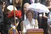 Sofia représente son fils pour la canonisation de Mère Teresa