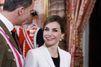 Une rentrée tout sourire pour la reine d'Espagne