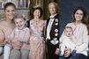 La famille royale de Suède se refait les portraits