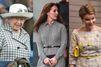 Trois royales façons de porter le pied-de-poule