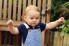Le prince George en balade