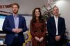 Kate, William et Harry fêtent Noël avant l'heure