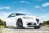 Alfa Giulia Quadrifoglio et Fabien Pierlot sous les flashs