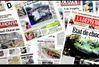 Diaporama : la presse dominicale sous le choc de la tempête