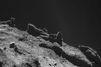 Philae, une patte en l'air