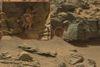 Curiosity en pince pour un crabe martien