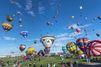 Les montgolfières ont coloré le ciel d'Albuquerque