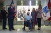 Avec Melania, Donald Trump décore un soldat blessé en Afghanistan