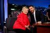 Chez Jimmy Kimmel, Hillary Clinton attaque Donald Trump