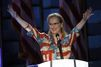 """Convention démocrate: la """"flag dress"""" de Meryl Streep, signée d'une Française"""