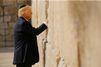 Donald Trump s'est recueilli sur le mur des Lamentations