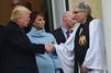 Donald Trump, un service religieux avant le serment
