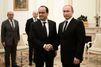 """Vladimir Poutine est """"prêt"""" pour une coalition large"""