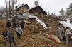 Glissements de terrain meurtrier au Cachemire