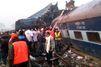 Inde : le déraillement d'un train fait au moins 100 morts
