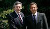 Nicolas Sarkozy est à Londres pour rencontrer Gordon Brown