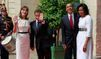 Le couple Obama est arrivé à la préfecture de Caen