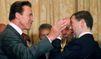 Schwarzenegger et Medvedev se parlent sur Twitter
