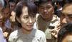 Suu Kyi veut parler au chef de la junte